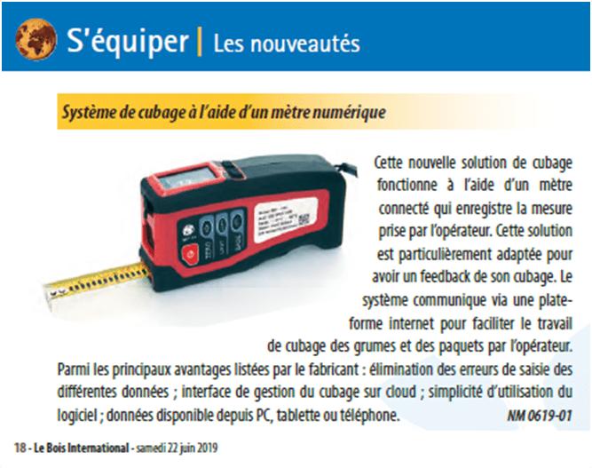 ARTICLE Le Bois International